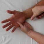 Rolfing Körperarbeit Hand